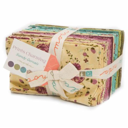 Moda Fat Eighth Bundle - Prints Charming by Sandy Gervais
