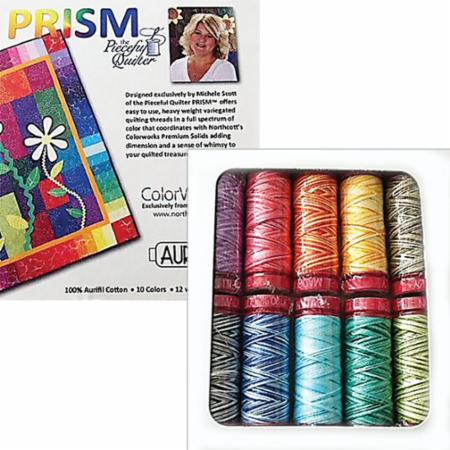 Prism Collection by Michele Scott 12wt Aurifil Small Spools