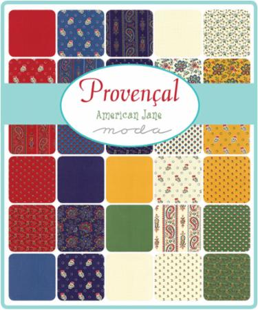Moda Fat Eighth Bundle - Provencal by American Jane