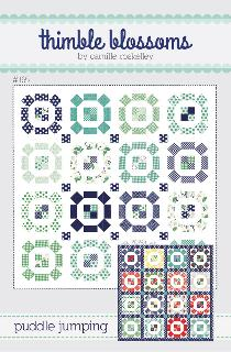 Puddle Jumping Quilt Pattern by Camille Roskelley