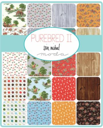 Moda Fat Quarter Bundle - Purebred II by Erin Michael