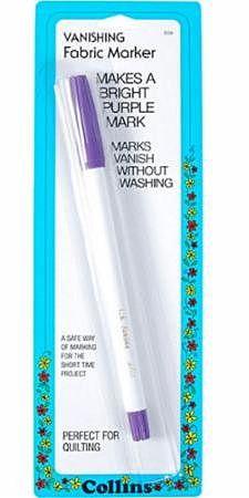 Purple Vanishing Fabric Marker