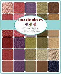 Moda Fat Eighth Bundle - Puzzle Pieces by Moda