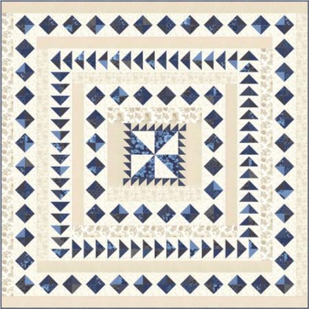 April/18 - Regency Blues Quilt Kit