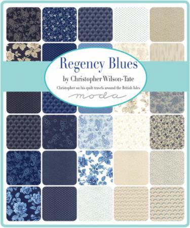 April/18 - Regency Blues Charm Pack