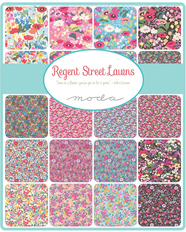 Feb/20 - Regent Street Lawns Charm Pack