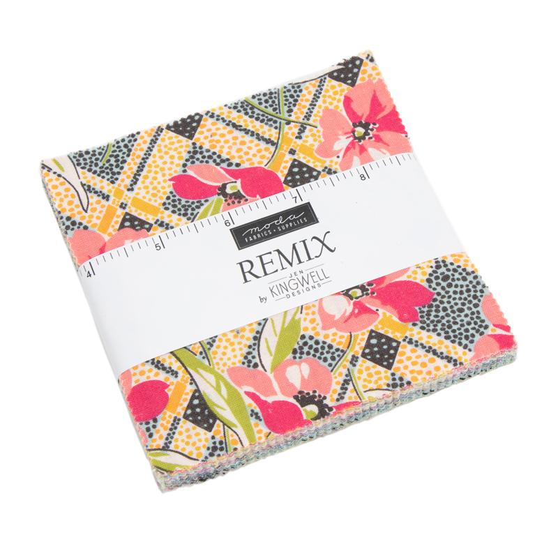 Moda Charm Pack - Remix by Jen Kingwell