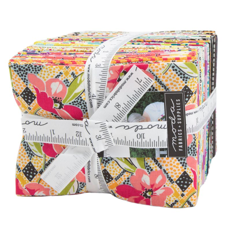 Moda Fat Quarter Bundle - Remix by Jen Kingwell