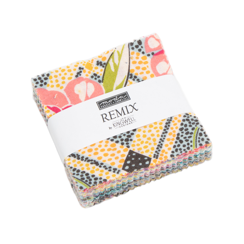Moda Mini Charm - Remix by Jen Kingwell