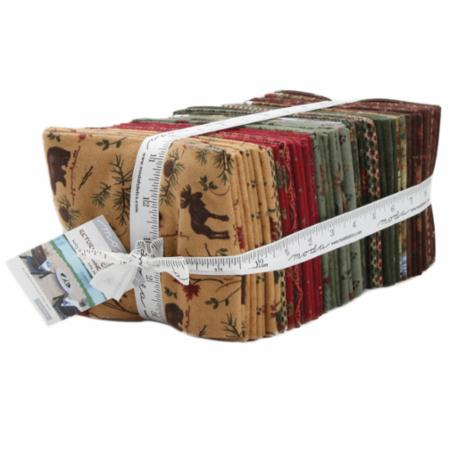 Moda Fat Quarter Bundle - Return To Cub Lake Flannel by Holly Taylor