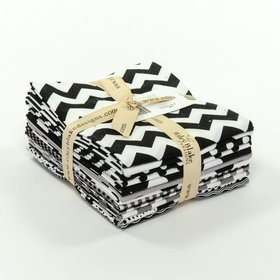 Riley Blake Fat Quarter Bundle - The Black Collection