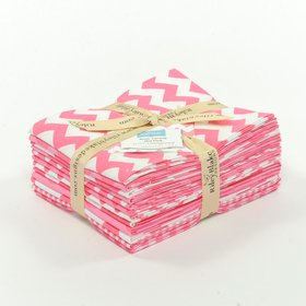 Riley Blake Fat Quarter Bundle - The Hot Pink Collection