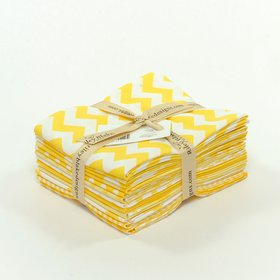 Riley Blake Fat Quarter Bundle - The Yellow Collection