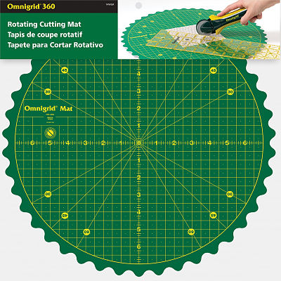 14 Inch Rotating Omnigrid Cutting Mat