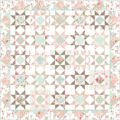 Feb/20 - Rue 1800 Quilt Kit