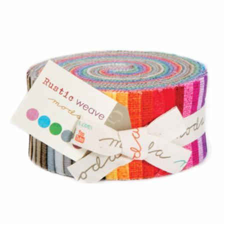 Moda Jelly Roll - Rustic Weave