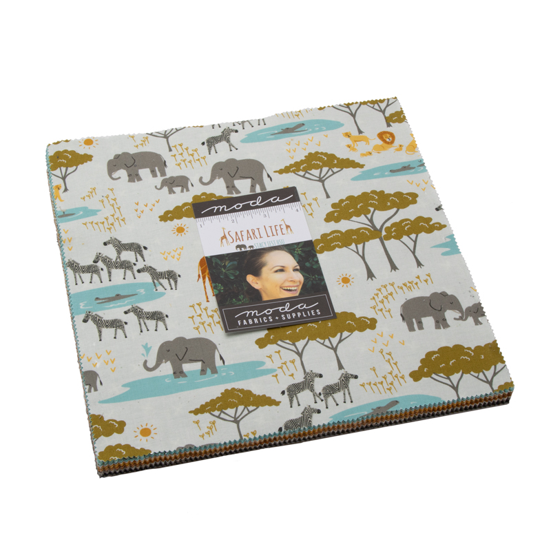 Moda Layer Cake - Safari Life by Stacy Iest Hsu