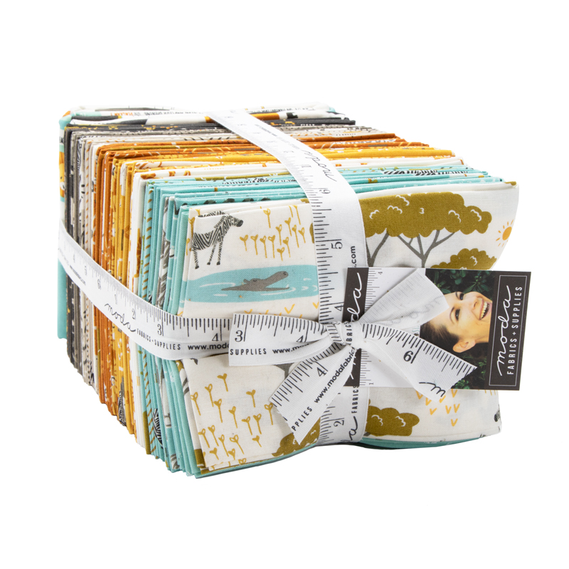 Moda Fat Quarter Bundle - Safari Life by Stacy Iest Hsu