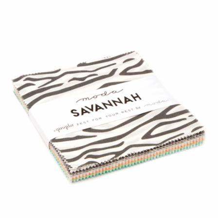 Moda Charm Pack - Savannah by Gingiber