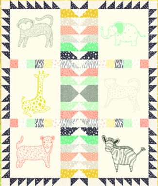 Moda Quilt Kit - Savannah