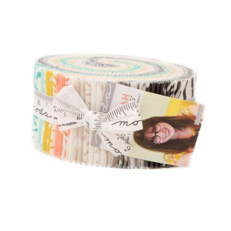 Moda Jelly Roll - Savannah by Gingiber