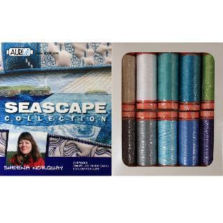 Seascape 50wt Aurifil 10 Spools
