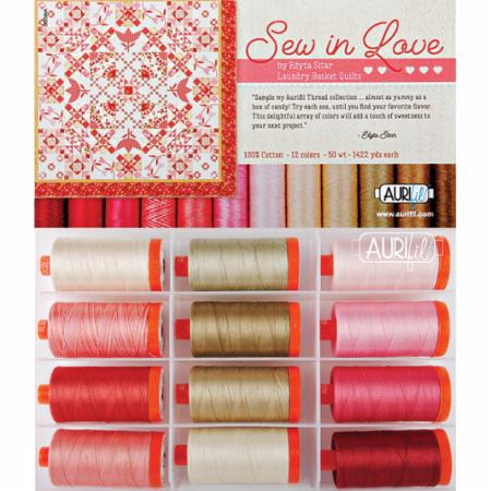 Sew In Love Collection Aurifil Large Spools