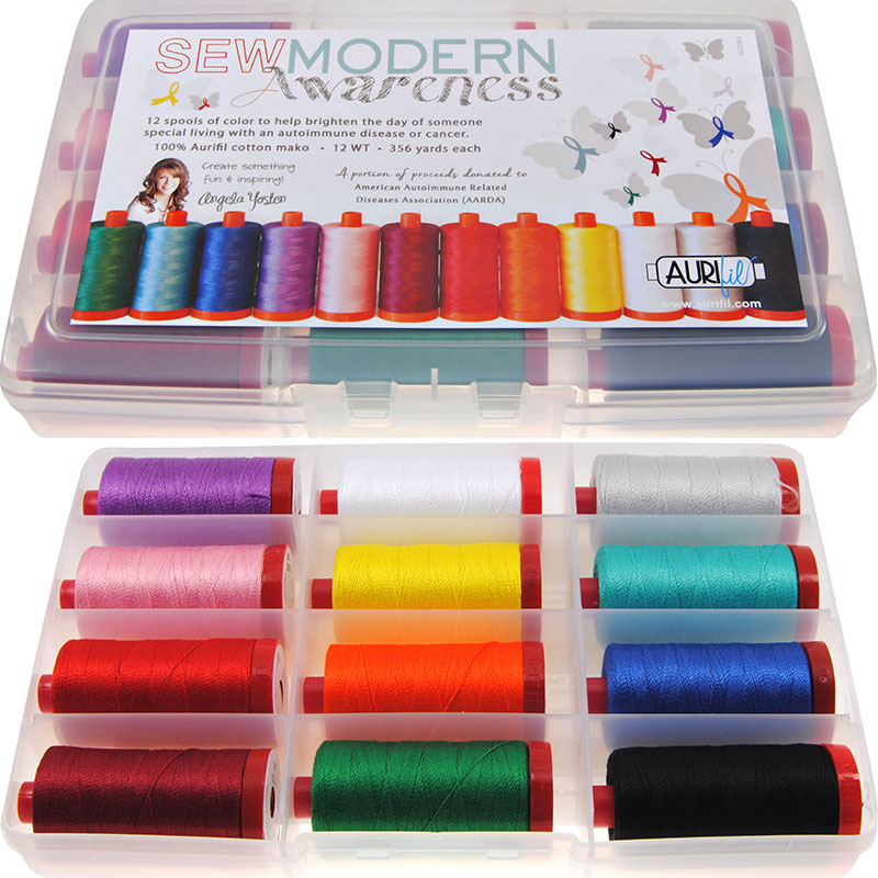 Sew Modern Awareness 50wt Aurifil Large Spools