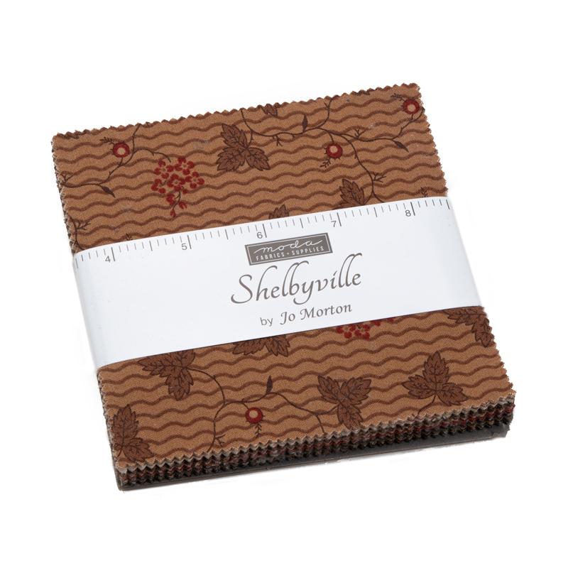 Moda Charm Pack - Shelbyville by Jo Morton