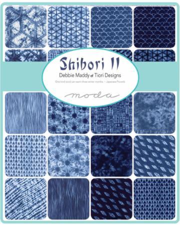 Moda Charm Pack - Shibori II by Debbie Maddy