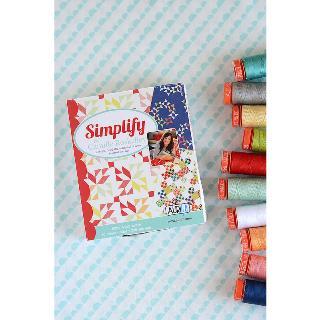 Simplify 50wt Aurifil 10 Spools