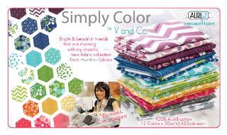 Simply Color 50wt Aurifil 12 Large Spools