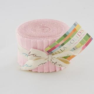 Solids Junior Jelly Roll - Sisters Pink 9900 145