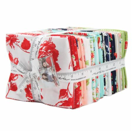 Moda Fat Quarter Bundle - Smitten by Bonnie & Camille