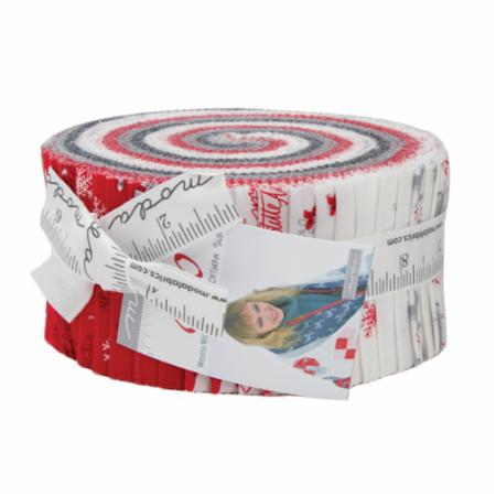 Moda Jelly Roll - Sno by Wenche Wolff Hatling