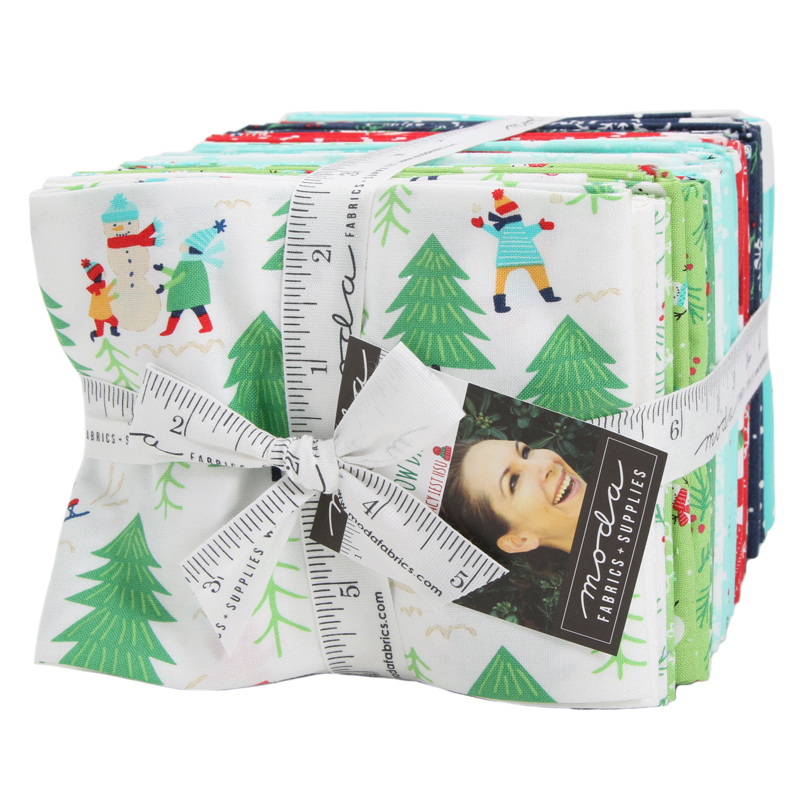 Moda Fat Quarter Bundle - Snow Day by Stacy Iest Hsu