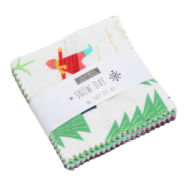 Moda Mini Charm - Snow Day by Stacy Iest Hsu