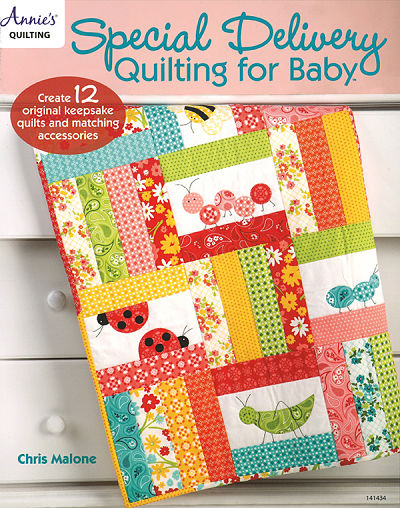 Special Delivery Quilting Baby Book