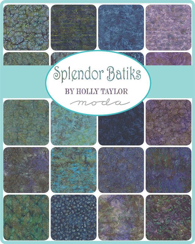 July/20 - Spendor Batiks Charm Pack