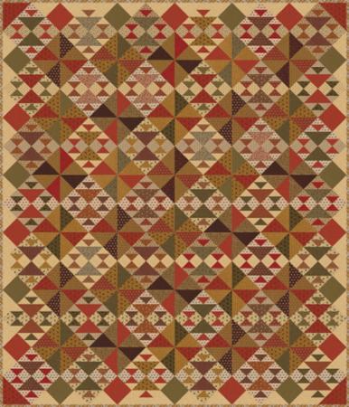 Moda Quilt Kit - Spice It Up by Jo Morton