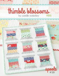 Spools Mini Quilt Pattern by Camille Roskelley