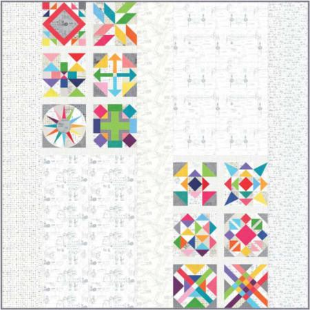 Moda Quilt Kit - Spotted by Zen Chic