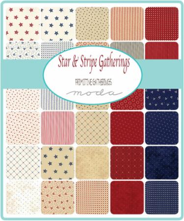 Jan/19 - Star & Stripe Gatherings Charm Pack
