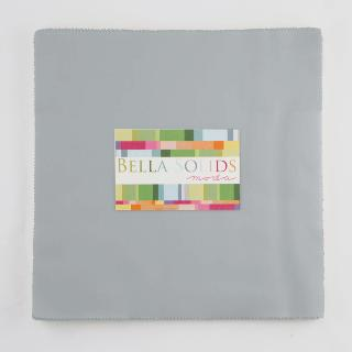 Moda Bella Solids Junior Layer Cake - Steel 9900 184