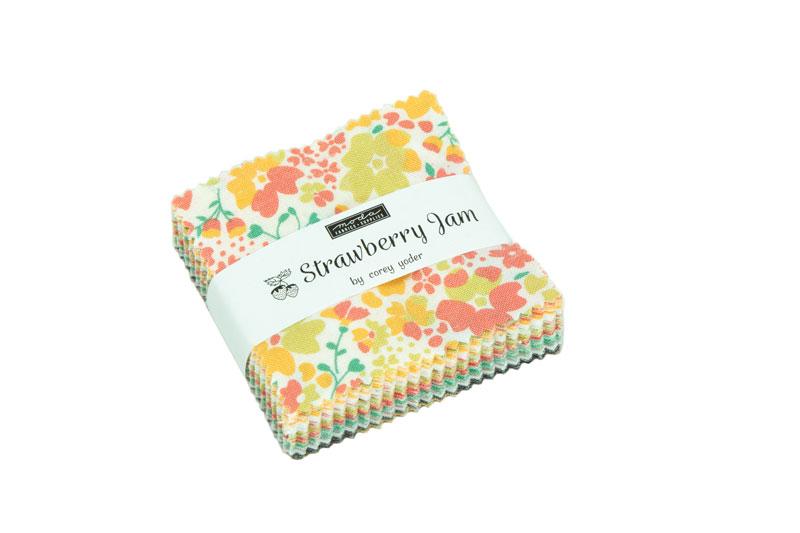 Moda Mini Charm - Strawberry Jam by Corey Yoder