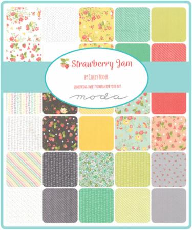 March/19 - Strawberry Jam Charm Pack