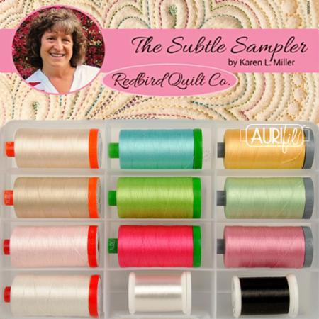 Subtle Sampler Collection Aurifil
