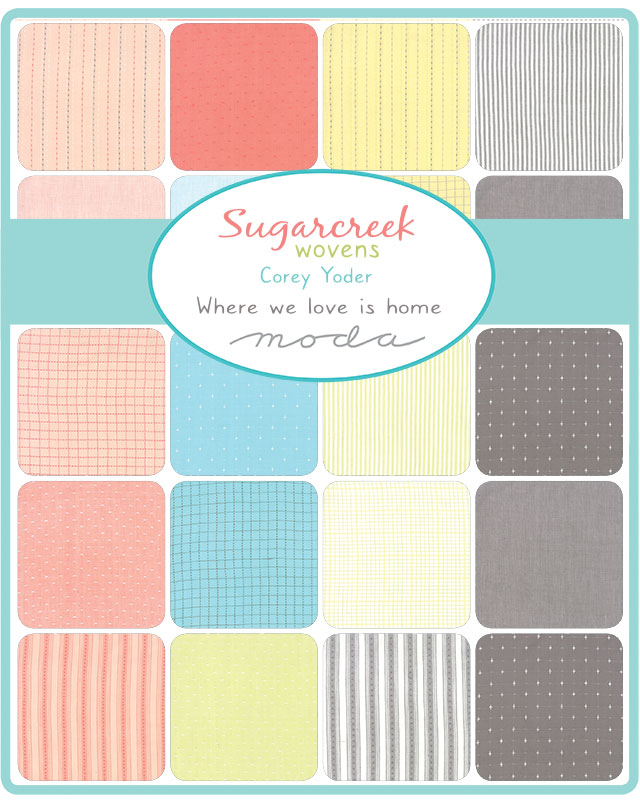 Sept/19 - Sugarcreek Silky WOVEN Charm Pack