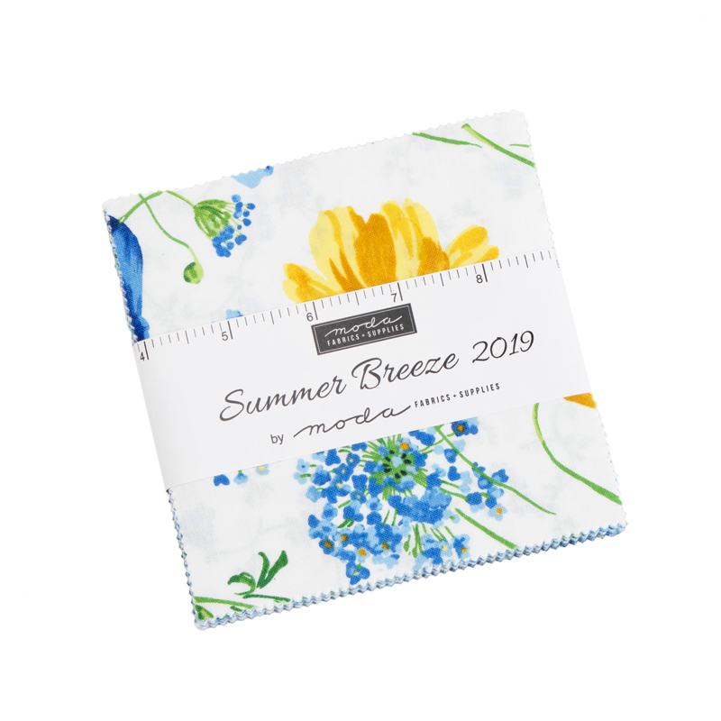 Moda Charm Pack - Summer Breeze 2019 by Moda