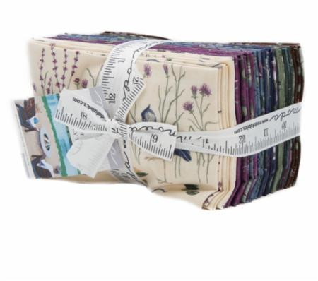 Moda Fat Eighth Bundle - Summer On The Pond by Holly Taylor